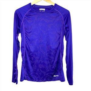 Marmot Crystal long sleeve tech running shirt